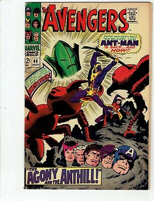 Avengers #46 (Nov 1967)1st Human Top as WHIRLWIND/Stan Lee- No Reserve/Free Ship