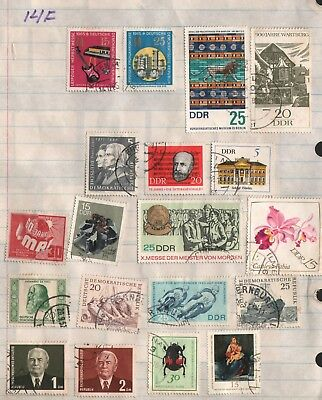 Germany Lot Of Old  Stamps #14F