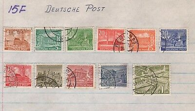 Germany Lot Of Old  Stamps #15F