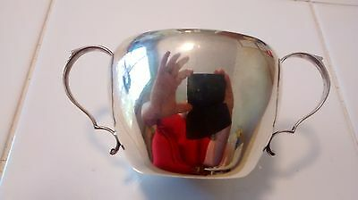 Sterling Silver Sugar Bowl by Moss