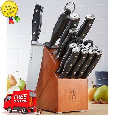 JA Henckels International 15-Piece Forged Accent Knife Block Set-CYBER MONDAY
