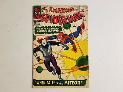 The Amazing Spider-Man 36 1st Looter Silver Age Key