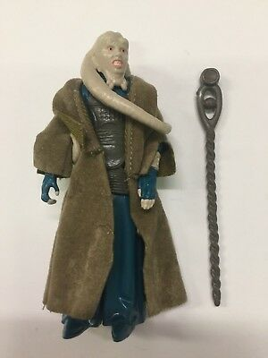 "NEAR MINT 1983 Kenner VINTAGE STAR WARS ROTJ BIB FORTUNA 3.75"" Action Figure!"