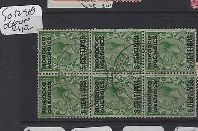 Morocco Agencies   (P1305B) Kgv  5C   Sg 129 Bl Of 6  Vfu