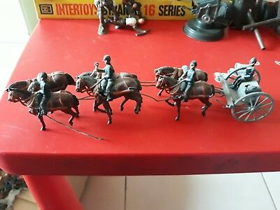 Britains Carro Guards Anni 60 Vintage Soldiers England Piombo Metallo
