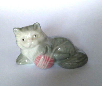 WADE 1980s Animal WHIMSIE-LAND KITTEN Whimsie-Land Set One 1984 Pets