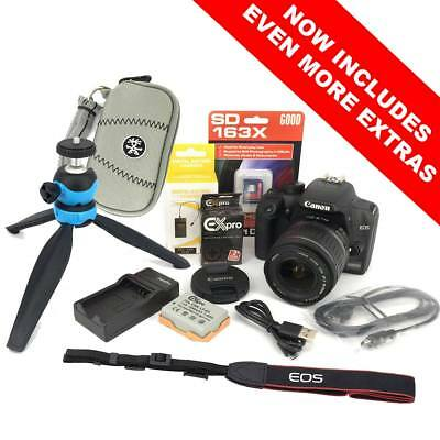 Canon EOS 1000D DSLR Camera Kit with EF-S 18-55mm Lens, Strap, Battery, Charger