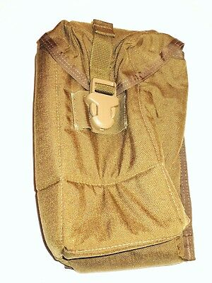 Eagle Industries MOLLE COYOTE PADDED OPTIC POUCH NEW!!!!!!!! MADE IN USA!
