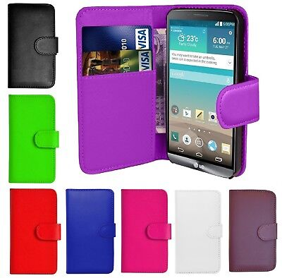 Book Wallet Flip PU Leather Stand Card Case Cover For Various Huawei Phones