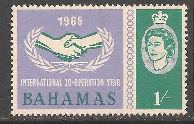 Bahamas #223 (CD318) VF MINT LH - 1965 1sh International Cooperation Year