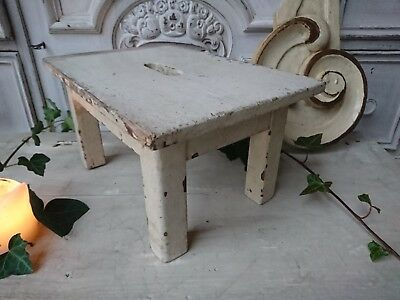 alter Hocker shabby chic Schemel