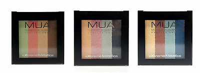 New MUA Make Up Academy Metallic Eye Eyeshadow Palette 5.9g BUY 1 GET 1 20% OFF