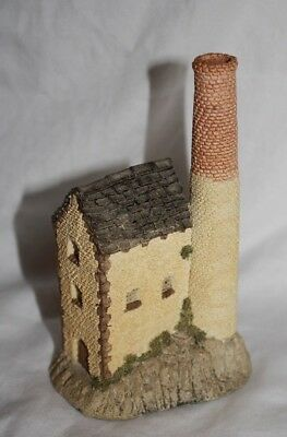 DAVID WINTER COTTAGES CORNISH TIN MINE 1983 Original Box COA