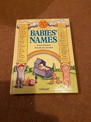 Babies' Names Book from Mothercare