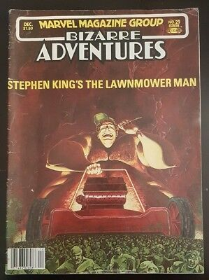 Bizarre Adventures 29. Stephen King. Lawnmower Man. 5.0-6.0
