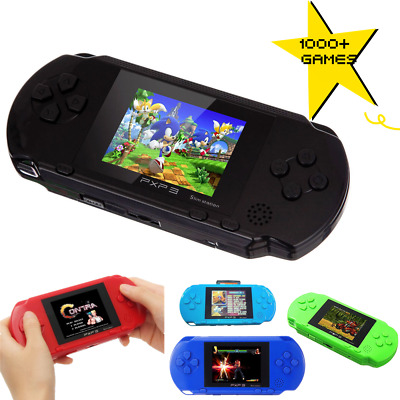 """NEW Handheld Game Console PXP3 Portable 2.8"""" 150 Free Retro Games Best Kid Gift"""