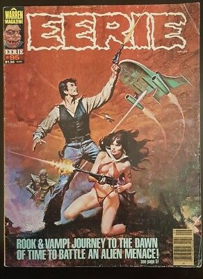 Eerie 95.  Rook and Vampirella!  6.0-7.0