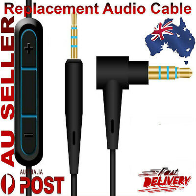 Replacement Audio Cable Cord Mic For Bose QuietComfort QC35II QC25 Headphones