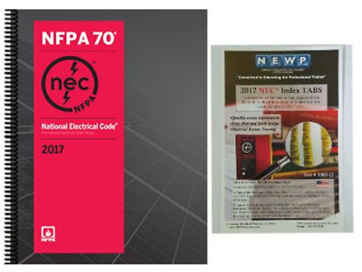 NFPA 70: National Electrical Code (NEC) Spiralbound and Fast Tabs  2017 Edition