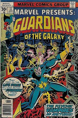 Guardians of the Galaxy #11 (Jun.1977) V/G  condition. Classic Bronze Age book!
