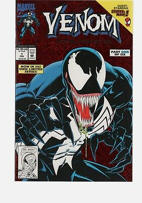 Venom  Leathal Protector  1 1St Solo Title  9.8 Copy  Marvel Comics