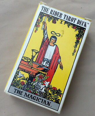 The Rider Tarot Deck 1971 Excellent Condition Tarot Cards - Instruction Booklet