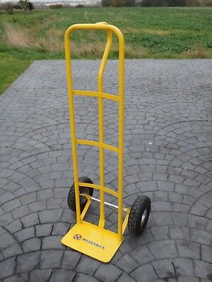 'Marksman' Heavy Duty Sack Truck with Pneumatic Tyres