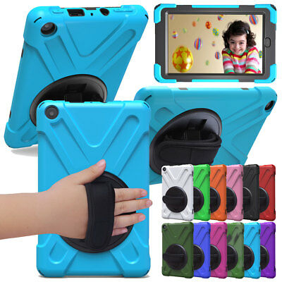 For Amazon Kindle All-New Fire HD 8 2018 Armor Protective Hard Case Cover Shell