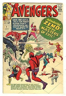 Avengers 6   1st Original Zemo & his Masters Of Evil