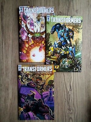 IDW Transformers Unicron 2018 #4-#6 Cover A-B SALE!!!