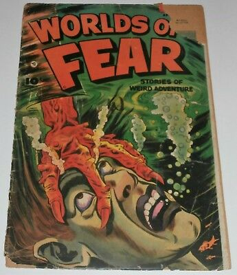 Worlds of Fear #9...April,1953...