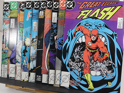 THE FLASH Lot (1988, DC Comics) 11 13 14 15 16 17 18 19 20 21 Invasion tie-in