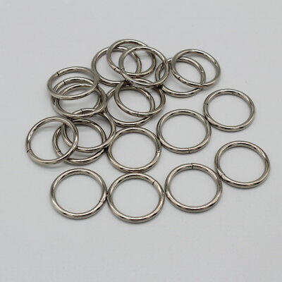 20pcs Silver Open Jump Rings Connectors for DIY Jewelry Making Supplies 20mm