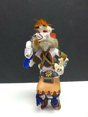 1980 Vintage Wolf Dog Kachina Doll 7.75""