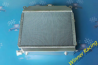 56MM ALUMINUM ALLOY RADIATOR FOR BMW E21 320I Sedan M10 M/T 1977-1983 US SPEC