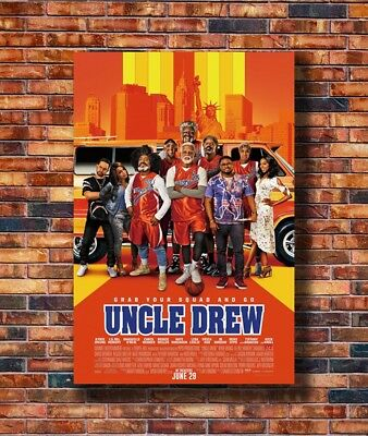 Hot Movie Uncle Drew Theatrical Comedy Characters Art Poster 12x18 24x36 T-1235
