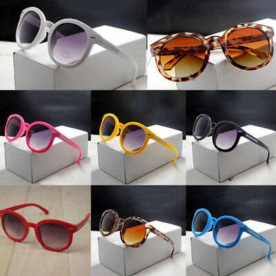 Candy Color Round Cool Glasses Girl Boy Anti-UV Sunglasses Eyewear 7 Color