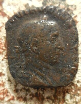 VF: 16 Gram Volusian Sestertius, Concordia! Ex Heritage Auction of Old Estate: