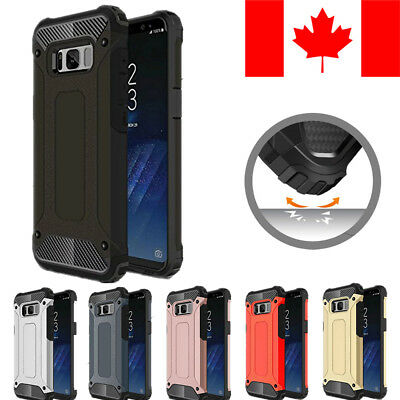 Heavy Duty Armor Shockproof Case Cover For Samsung Galaxy S8