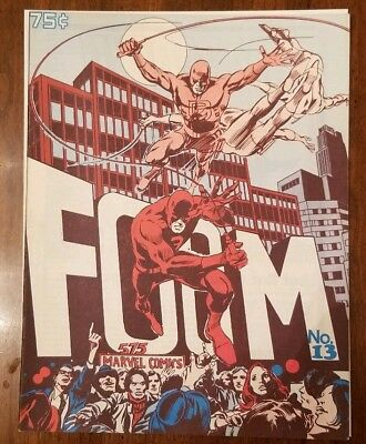 FOOM #13 Daredevil Issue + Stan Lee Interview By Chris Claremont! *see Pics! NM
