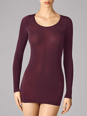 WOLFORD BUENOS AIRES PULLOVER in Dark Orchid Size:S  Ret:$240 New Boxed & w/Tags