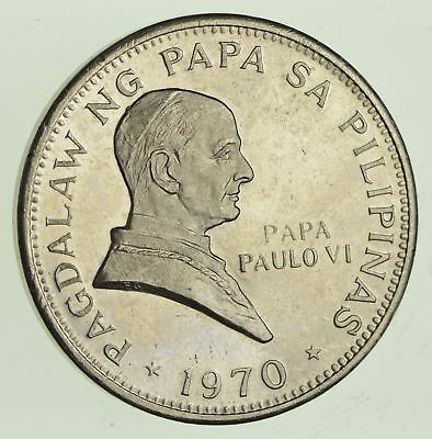 1970 Philippines 1 Piso - World Coin *458