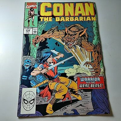 Conan The Barbarian By Marvel Comics #234 JULY 1990 In Good Condition