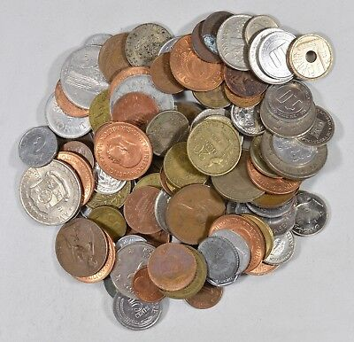 Roughly a POUND of Mixed World Coins - Great Mix *177