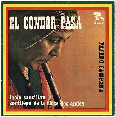 EL CONDOR PASA Pajaro Campana Single 1970 Rivera MR 28 027 Deutschland