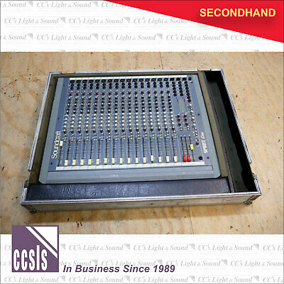 Soundcraft Spirit Live 16 Mixing Console with Protecta Case Roadcase