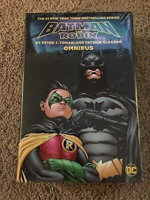 Batman and Robin by Peter J. Tomasi and Patrick Gleason Omnibus, Hardcover by...