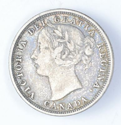 1858 Canada 20 Cents - Circulated *6119