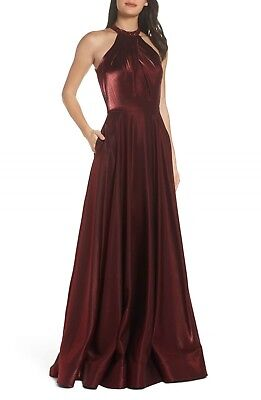87830e377af NEW DEEP RED Beaded Quinceanera Dress Ball Gown Cap Sleeves Prom ...