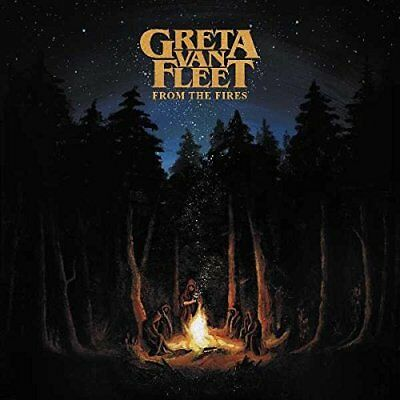 Greta Van Fleet Cd - From The Fires (2017) - New Unopened - Rock - Republic